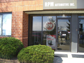 RPM Automotive Inc. Shop Photo